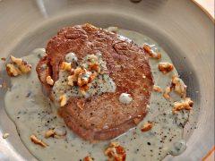 Filetto con il gorgonzola